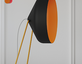 furniture Cyrcus F Lavagna and Cemento Floor Lamps 3D
