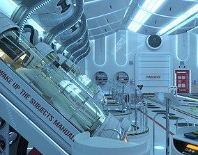 3D model SC20 Hibernation Chamber