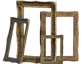 3D asset Old Picture frame