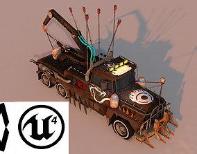 Small Battle Truck 3D asset