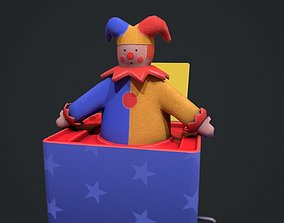 3D asset Cute Jack in The Box