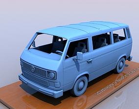 3D printable model VOLKSWAGEN T3 TRANSPORTER CARAVELLE