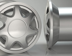 3D Wheel for Car Clear Model Ready for game and Print