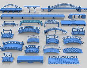 3D Bridges - 23 pieces