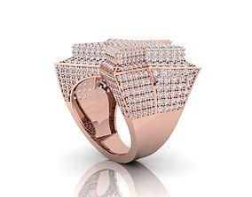 3D print model Star Ring platinum