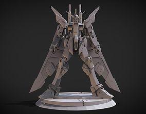 3D print model Gundam Infinitive Justice