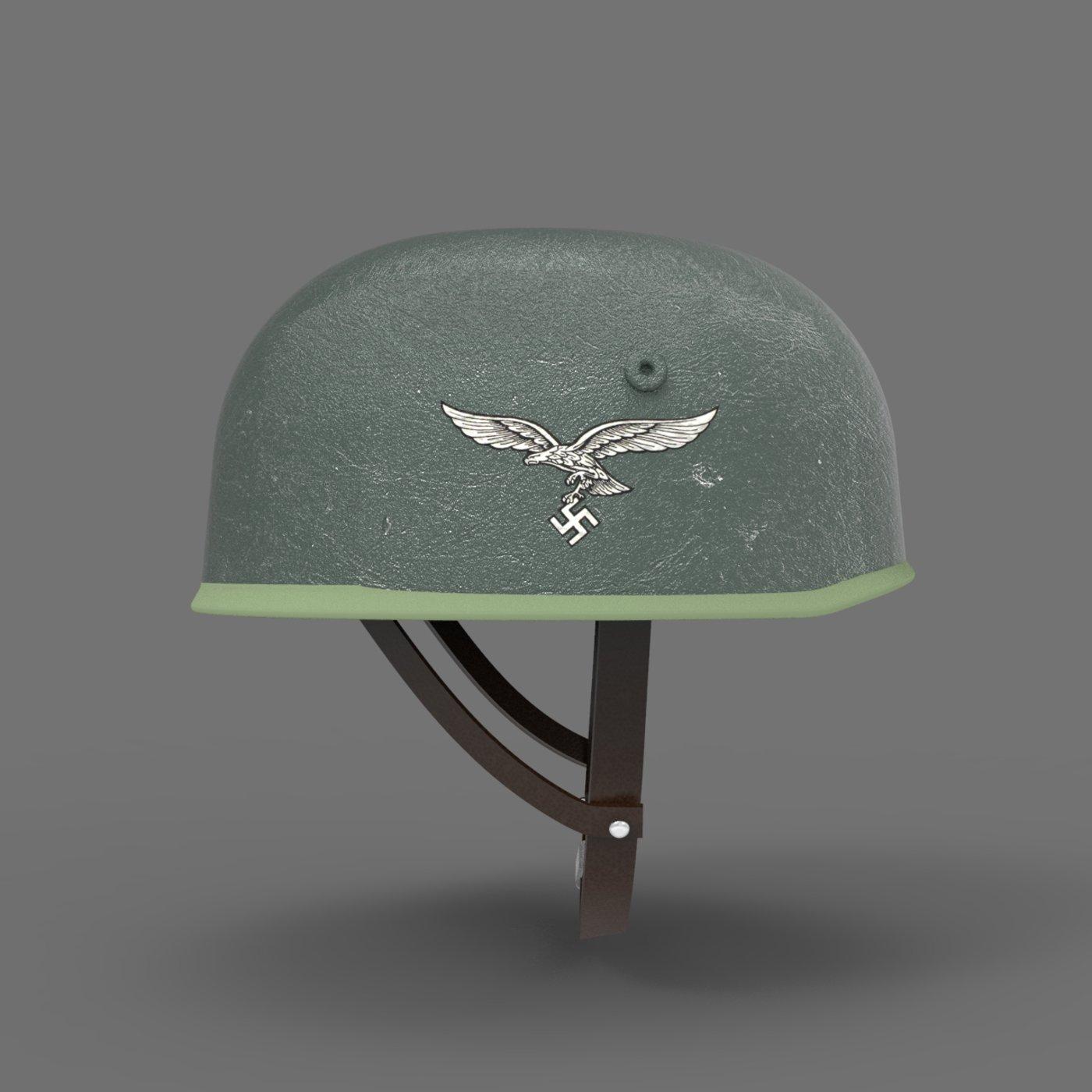 WWII German Paratrooper Helmet