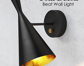 Beat Wall Light Black Tom Dixon 3D model