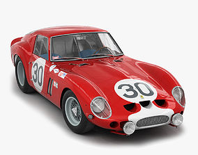 engine Ferrari 250 GTO - 3223GT - No Engine 3D model
