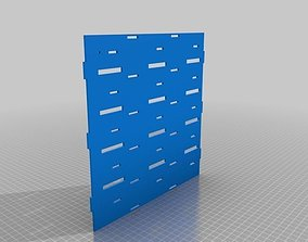 3D printable model 15-Channel Array RoboMusicBox