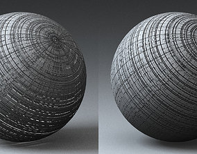 plate Syfy Displacement Shader B 3D