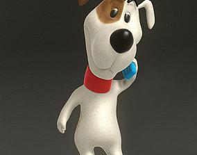 Cartoon Dog 3D asset animated