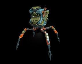 Sci fi bug bot 3D model