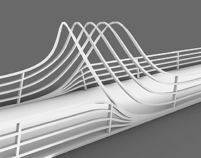 engineering bridge 3d model