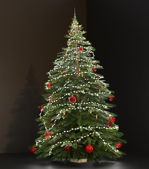 Lowpoly Christmas Tree Indoor Version 2 (Blender-2.91 Cycles Render)
