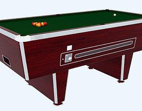 Pool table - Standard British Pub Table 3D model