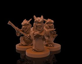3D print model magician khajiit collection