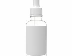 drops Dropper Bottle 3D model