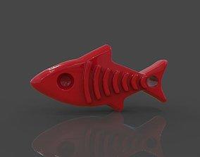 Pet Tag Fish Tag 3D print model