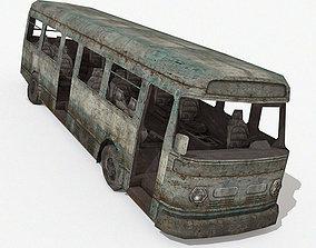 3D model Damaged Bus