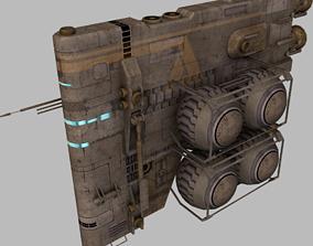 3D model Tardigrade fuel hauler