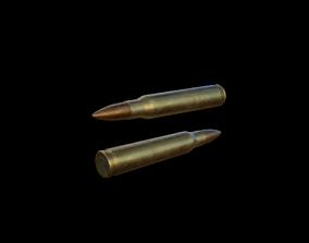 223 Bullet 3D asset