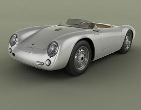 Porsche 550 Spyder 3D model