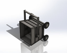 3D model Particulate Transport Car - Carro de Transporte