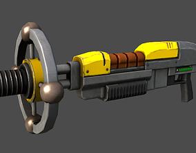 3D model Lightning Gun