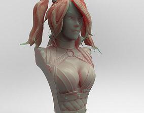 Harley Quinn 3D printable model