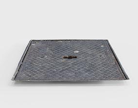 manhole 3D asset