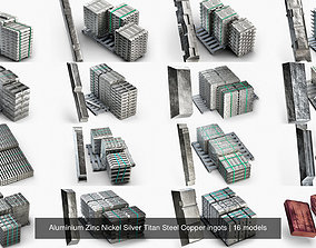 3D Aluminium Zinc Nickel Silver Titan Steel Copper