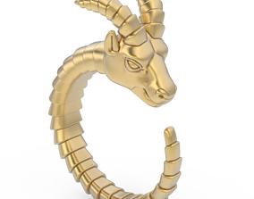hoof Goat ring 3D print model