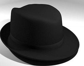 Hat - Trilby 3D