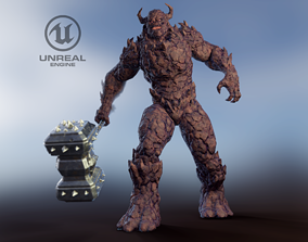 3D model Monster - Game Ready
