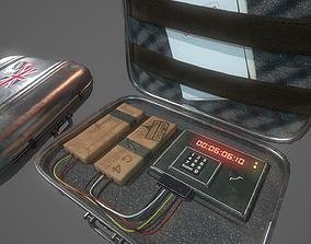 3D model Briefcase C4 Bomb
