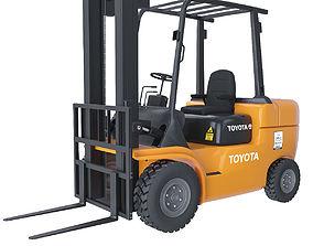 Forklift Toyota 3D model