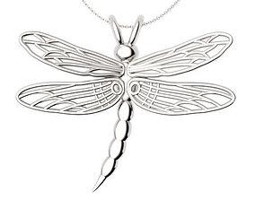 Dragonfly Pendant 3D print model
