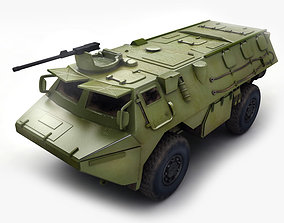 ASV Military Transport 3D