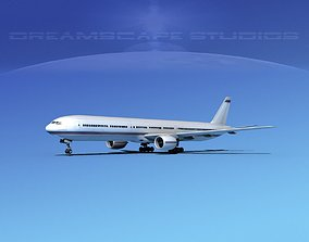 Boeing 777-300 Corporate 3D model
