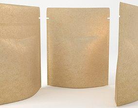 paper bag 3D model realtime