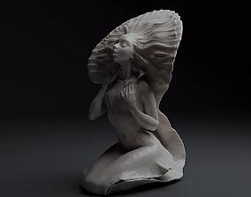 3D printable model Mermaid Bathing