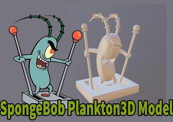plankton model from sponge bob