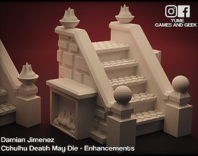 Stairs for board games Cthulhu Death May 3D print model 2