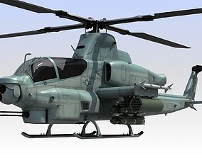 3D Helicopter AH-1Z Viper