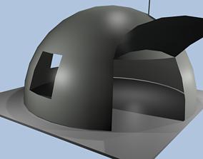 Space Home 3D asset