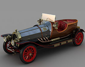 3D model Chitty Chitty Bang Bang