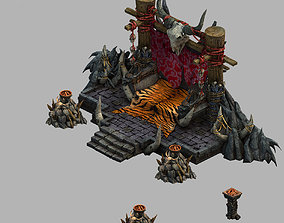 3D Temple of Voma-Throne 01