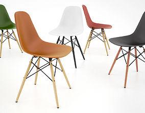 Vitra DSW Chair 3D model