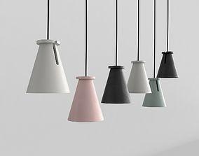 3D model Hanging lights minimal lamps